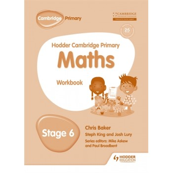 Hodder Cambridge Primary Maths Workbook | Stage 6