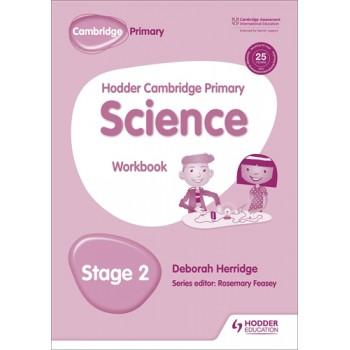 Hodder Cambridge Primary Science Workbook | Stage 2
