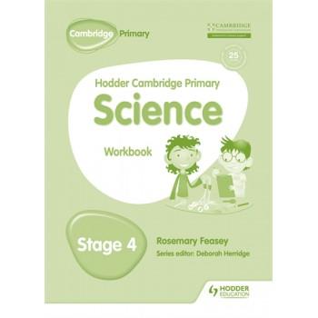 Hodder Cambridge Primary Science Workbook | Stage 4