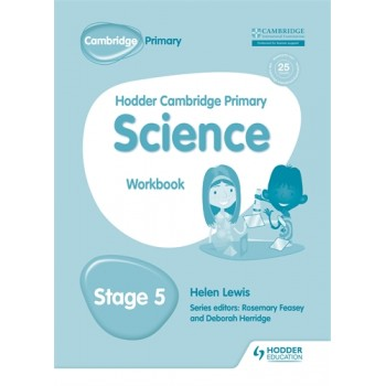 Hodder Cambridge Primary Science Workbook | Stage 5