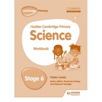 Hodder Cambridge Primary Science Workbook | Stage 6